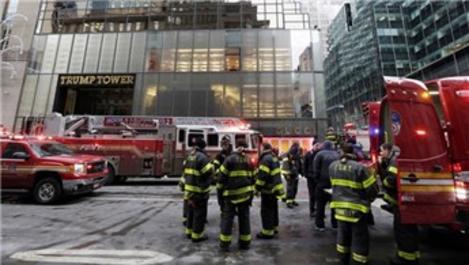 New York'taki 58 katlı Trump Tower'da yangın!