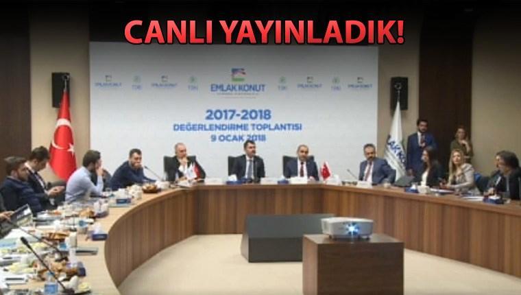 Murat Kurum, 2017-2018 Değerlendirme Toplantısı yaptı
