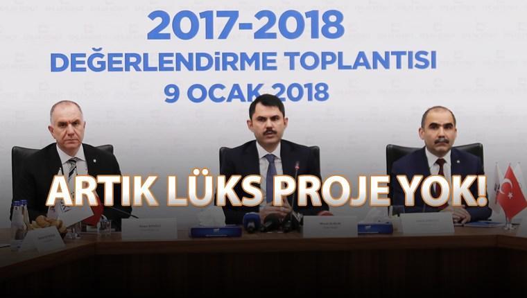 """Murat Kurum """"İstanbul'da konut fiyatları artmak zorunda"""""""