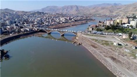 Dicle Nehri etrafındaki çalışmalar sona erdi