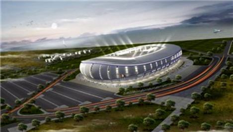 Ordu'daki yeni stadın yüzde 95'i bitti