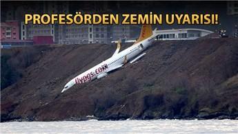 'Trabzon Havalimanı'nın zemini için acil önlem alınmalı'
