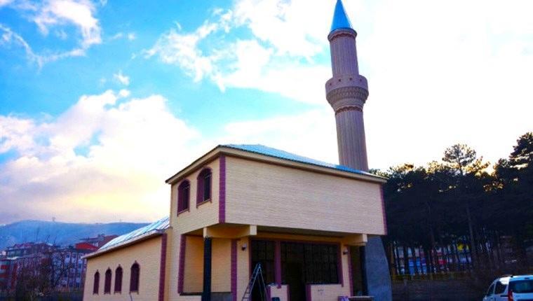 Yapımı tamamlanan İşletme Camisi ibadete açılacak