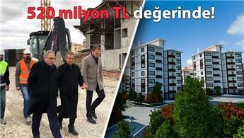 """Turan: """"Tokat'ta 5 bin 71 konutun inşasına başladık"""""""