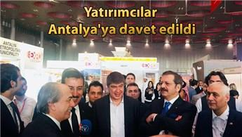 Antalya projeleri Katar'da görücüye çıktı