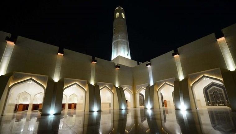Katar'da göz kamaştıran bir cami