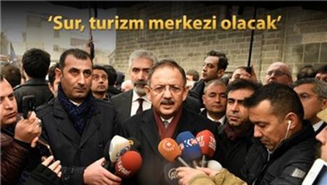 Bakan Özhaseki: Sur'a binlerce konut yapılacak!