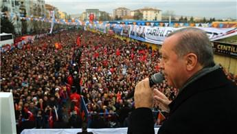 Erdoğan, Uşak'ta TOKİ'nin çalışmalarını inceledi
