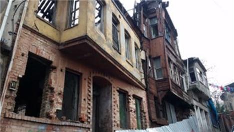 Süleymaniye'deki ahşap cumbalı evler yenileniyor