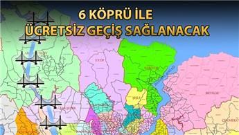 Kanal İstanbul ile İstanbul'un 19 ilçesi adalı olacak