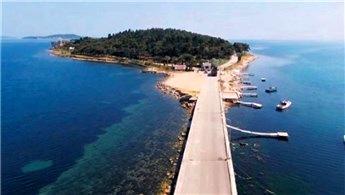 Urla'daki 'karantina'  adası restore ediliyor