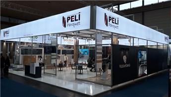 Peli Parquet, en yeni tasarımları ile Domotex'te yerini aldı