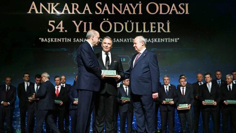 Cumhurbaşkanı Erdoğan'dan Kazım Türker'e istihdam ödülü!