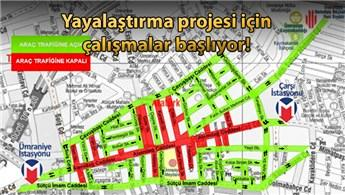 Ümraniye Alemdağ Caddesi trafiğe kapatılacak