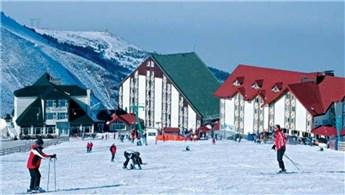 Palandöken Kayak Merkezi, doldu taştı!