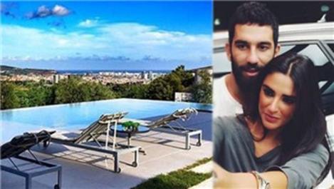 Arda Turan, Çubuklu Vadi Evleri'nden villa kiraladı
