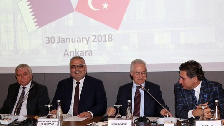 'Türk inşaat malzemelerini Katar'da görmek istiyoruz'