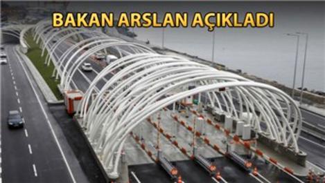 Avrasya Tüneli geçiş ücretine KDV düzenlemesi!