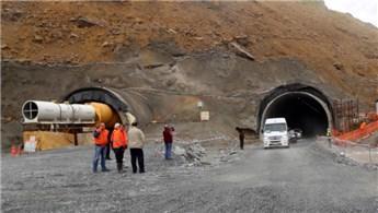 Ovit Tüneli'nin yüzde 97'si tamamlandı