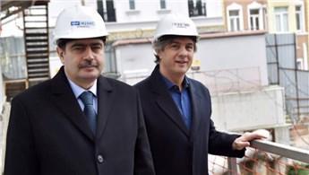 Vali Vasip Şahin Beyoğlu'ndaki projeleri inceledi