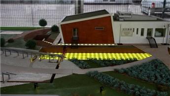 Gaziantep'teki 'Ekolojik Bina' enerjisini güneşten sağlıyor
