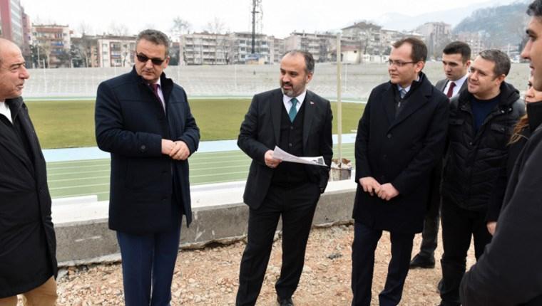 Bursa'daki eski stadyum alanı vatandaşların hizmetine sunulacak