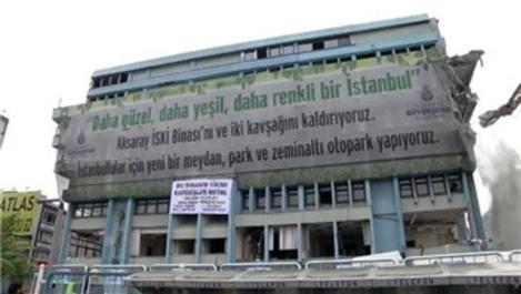 Aksaray'daki İSKİ binasının akıbeti belli oldu!