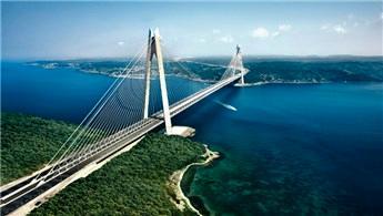 Yavuz Sultan Selim Köprüsü mavi ve turuncu olacak!