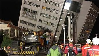 Tayvan'da 6,4 şiddetinde deprem!