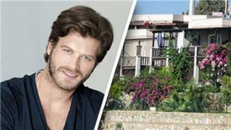 Kıvanç Tatlıtuğ, Göktürk'te 15 bin TL'ye villa kiraladı