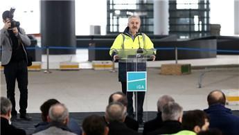 3. Havalimanı inşaatının yüzde 80'i tamamlandı
