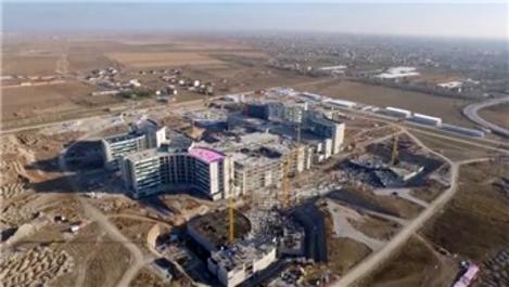 Konya Şehir Hastanesi hızla yükseliyor