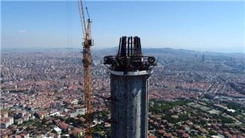 Küçük Çamlıca TV-Radyo Kulesi bu sene içinde hizmete açılacak