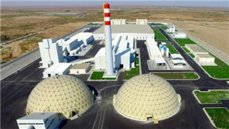 Türkmenistan Milli Cam Kompleksi hizmete açıldı