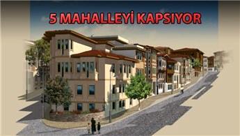 Süleymaniye'de 707 bina yenilenecek