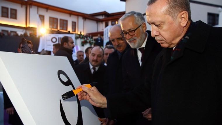 Cumhurbaşkanı, Modern Müze'nin temel atma törenine katıldı