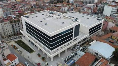 Taksim İlk Yardım Hastanesi inşaatında sona gelindi