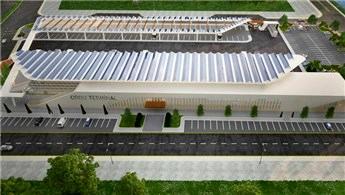 Ordu'da inşa edilen otobüs terminali kendi elektriğini üretecek
