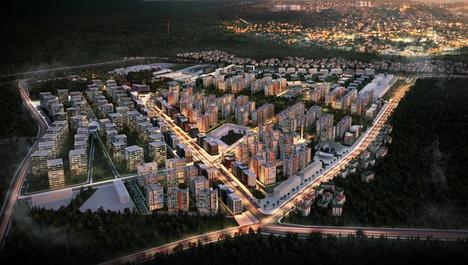 Sur Yapı Antalya projesinin yeni etabı Turkuaz!