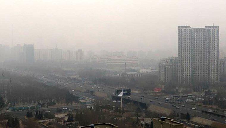 Çin'de kirli hava için turuncu alarm verildi
