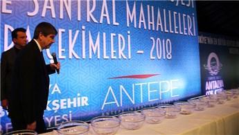 Antalya'da kentsel dönüşüm projesinde kuralar çekildi