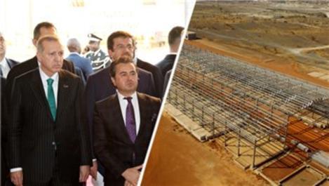Cumhurbaşkanı Erdoğan'dan Senegal'de şantiye ziyareti!