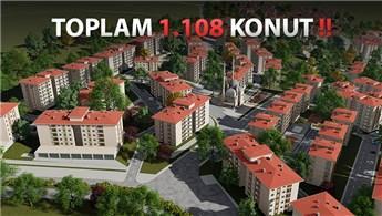 TOKİ Denizli'de yeni bir mahalle inşa ediyor