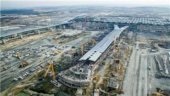 Cumhurbaşkanı Erdoğan, 3. Havalimanı'nın ilk resmi konuğu olacak