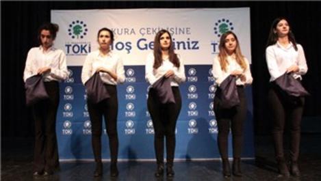 TOKİ, Bursa'da emeklilerin yüzünü güldürdü
