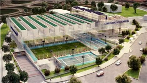 Cemal Kamacı Spor Kompleksi, kapasitesini artırıyor
