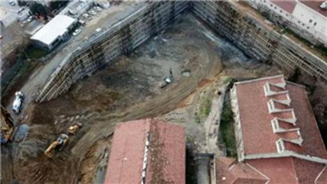 'Şişli'deki okulun inşaat nedeniyle risk altında olduğu' iddiası
