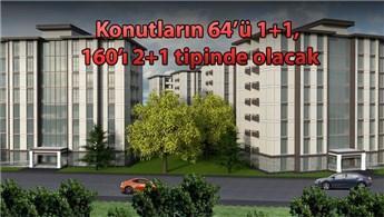 TOKİ, Güngören'de dönüşüm ile 224 konut yapacak