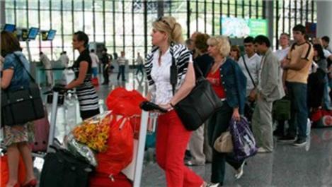 Antalya'ya gelen Rus turist sayısı son 3 yılın rekorunu kırdı!