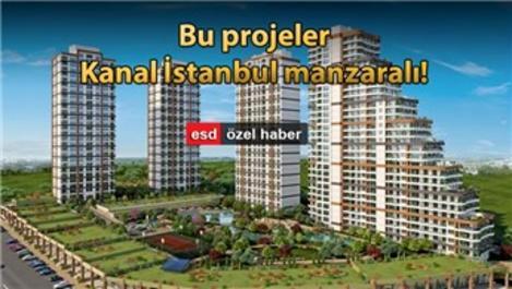 Kanal İstanbul'a yakın markalı konut projeleri!